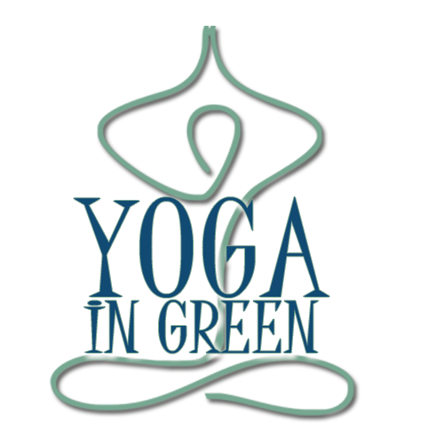 Yoga in Green Logo